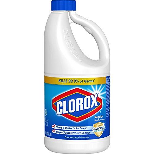 Clorox Regular Liquid Bleach, 64 Ounce Bottle