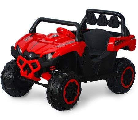 Amazon.com: Motorized Cars For Kids- Red Black Viking 12V - Realistic Driving Experience for Your Little Ones: Toys & Games