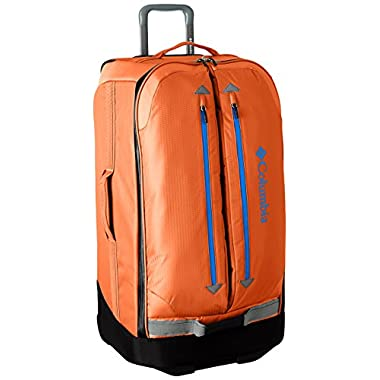 Columbia Pack and Go 30 Inch Rolling Upright, Orange/Grey, One Size