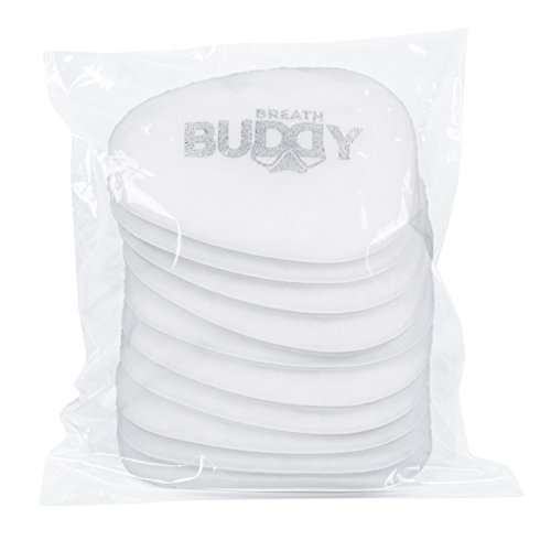 - Breath Buddy Respirator Mask Replacement Filter | 10 Pack of P2 (N95) Particulate Respirator Filters for Effective Protection Against Dust, Paint Particle, Asbestos, and Non-Oil Based Particles