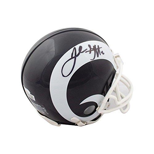 Jared Goff Autographed Los Angeles Rams Mini Football Helmet - Fanatics