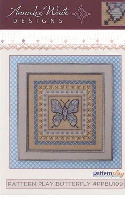 Free Butterfly Cross Stitch Patterns - Pattern Play - Butterfly Cross Stitch Chart and Free Embellishment