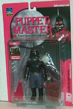 PUPPET MASTER TORCH RARE ORANGE CARD by Puppet Master]()