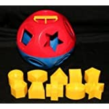 Tupperware Shape-O Toy Ball, Blue/Red
