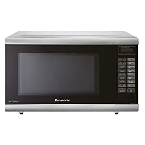 Panasonic NN-ST651M 32-Liter Inverter Technology Microwave Oven 220-Volts (Non-USA Compliant), European Cord 12