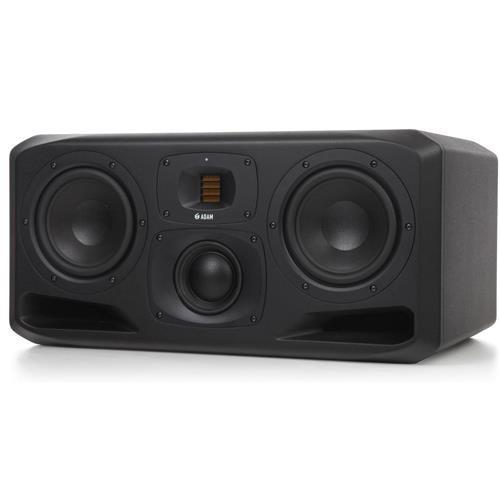 مانیتور میدلایز 3 طرفه Adam Audio S3H با 2 و 7 اینچ Woofer ، حداکثر توان 550 وات ، تک