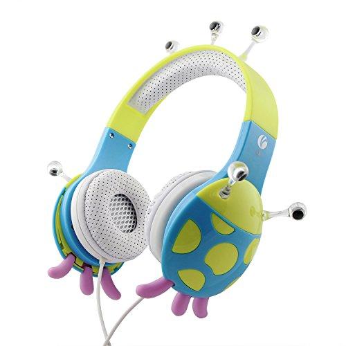 Price comparison product image VCOM Kids Headphones Earphone for Toddler School Boys and Girls DE802 Blue