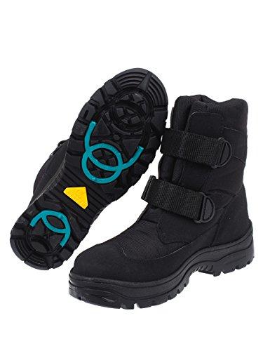 Alpes vertigo Andorra Noir Boots - Bottes Neige Après Ski Noir po6BliUZI