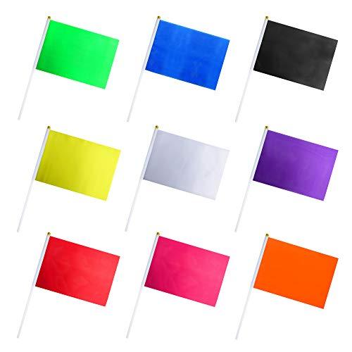 Amazon.com: Consummate - Juego de 45 banderas de colores ...