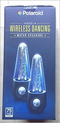 Polaroid Wireless Dancing Water Speakers