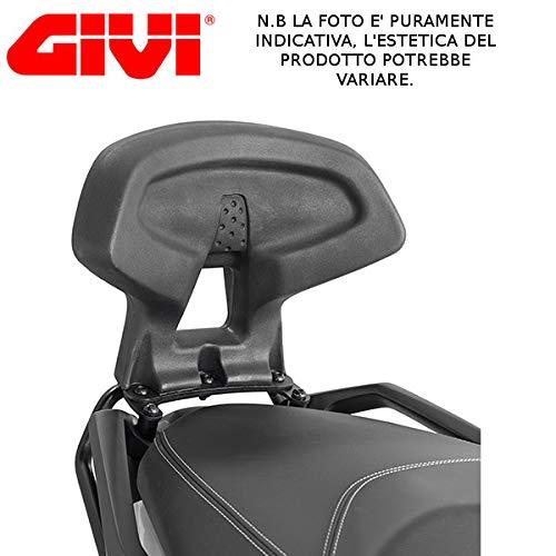TB2136 GIVI Passenger Backrest for Yamaha X Max 300 2017 Black FAR