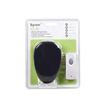 Byron Sx-8I Wire Free Wireless Cable Portable Door Chime Doorbell Kit 8 Bell Tunes  sc 1 st  Amazon.com & Byron Sx-8I Wire Free Wireless Cable Portable Door Chime Doorbell ...