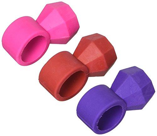 Amscan 395227 Diamond Ring Eraser, 1 3/4 x 1/2 inches, Multicolored -