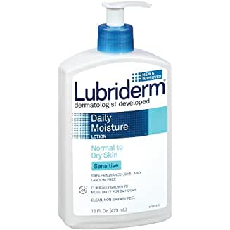 Lubriderm Sensitive Skin Therapy For Sensitive Dry Skin