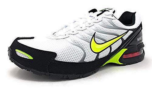 Nike Air Max Torch 4 Mens Running Shoe White/Volt-Black, Size 7.5 ()