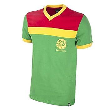 COPA Football - Camiseta Retro Camerún 1989: Amazon.es: Deportes y aire libre