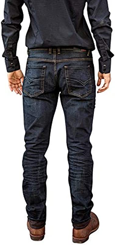 Freeman T. Porter Jimmy Stretch Denim Brown: Odzież