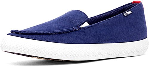 FitFlop Womens Sunny Loafer French Navy Size 11
