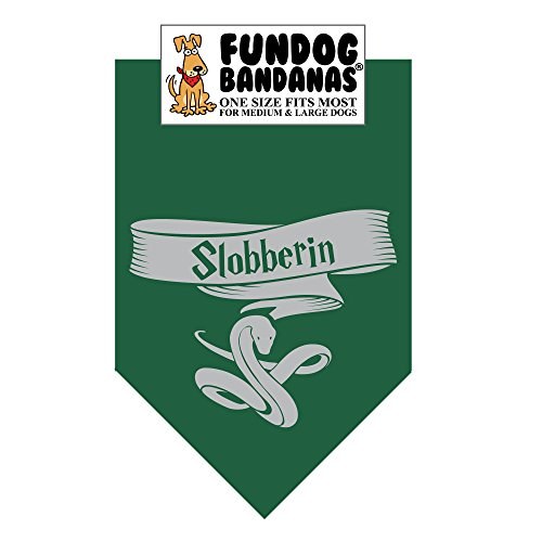 HP Slobberin Dog Bandana (One Size Fits Most for Medium to Large Dogs) -