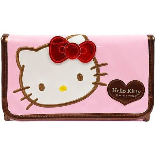 Pink Pouch type clutch bag by sanrio (Clutch Uni)