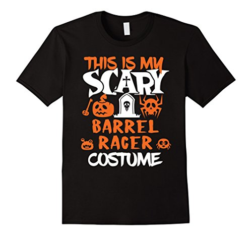 Man Barrel Costume (Mens Barrel Racer Scary Halloween Costume Party T-Shirt XL)