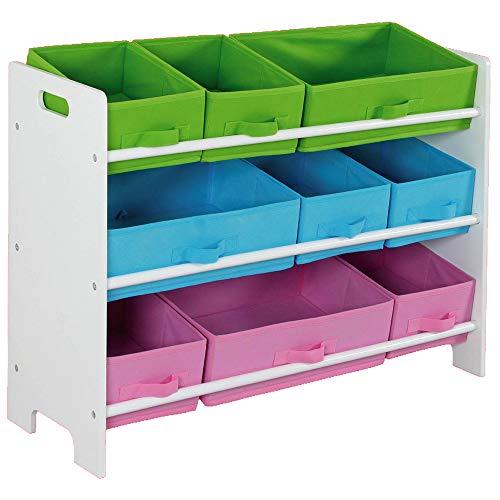 Home Basics SS00685 Storage Shelf with 9 Bins