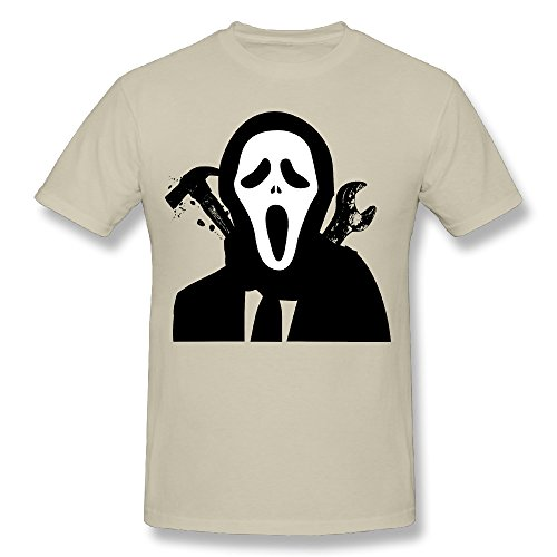 SNOWANG Men's Halloween For Fun T-shirt S
