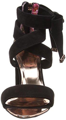 black Baker Cheville Femme Noir Bride Noxen Ted 2 Sandales 000000 wPvx4wZq