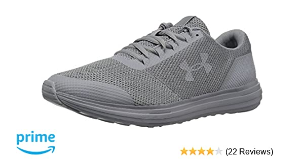 Amazon.com | Under Armour Mens Surge-Wide (4E) Running Shoe, (102)/Steel, 7 US | Road Running