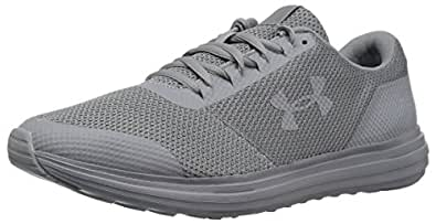 Under Armour Mens 3020391 Surge - Wide (4e) Gray Size: 7 XW US