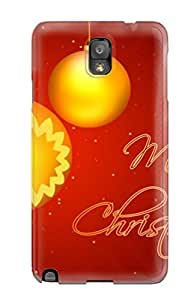 Excellent Design Merry Christmas Desktop Phone Case For Galaxy Note 3 Premium Tpu Case