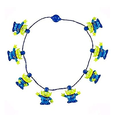 Disney Parks Toy Story Aliens Light-Up LED Glow Necklace: Toys & Games