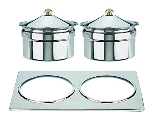 Mepra 207199A Palace Soup Tureen for Art.7199, Stainless Steel