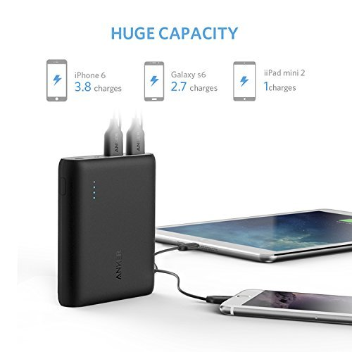Anker PowerCore 10400mAh External Battery Pack for All Smartphones - Black by Anker (Image #3)