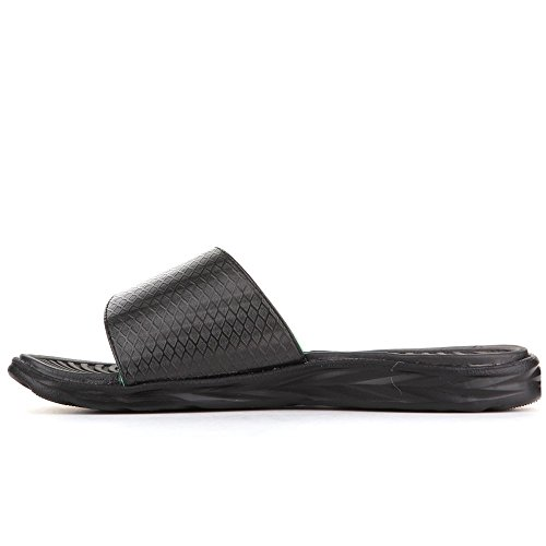 New Balance Mens Response Slide M3067BKG Schwarz (Black)