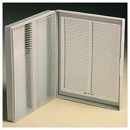 Karter Scientific 212H3 Microscope Slide Box, For 3x1 slides, Holds 100 Slides