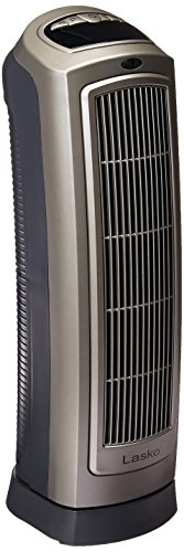 Lasko 755320 Ceramic Space Heater with Digital Display and Remote Control - Features Built-in Timer and Oscillation