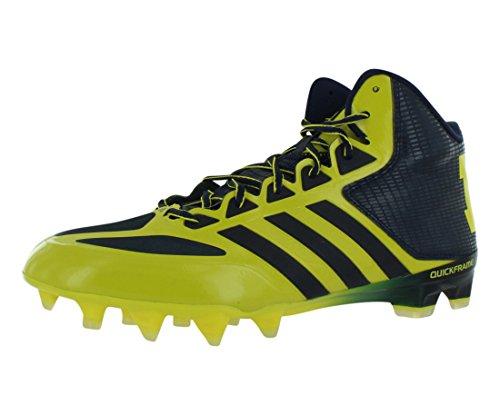 adidas SMU Crazyquick Mid NCAA Football Men's Shoes Size 10.5
