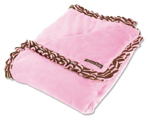 Trend Lab Velour Receiving Blanket
