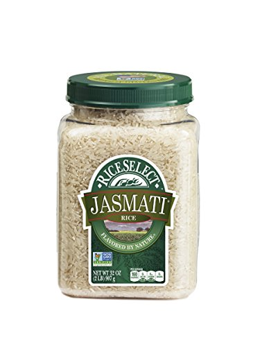 RiceSelect Jasmati Rice, 32-Ounce (Pack of 4) (Riceselect Sushi)
