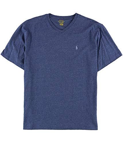 Ralph Lauren Mens Classic Basic T-Shirt Blue L