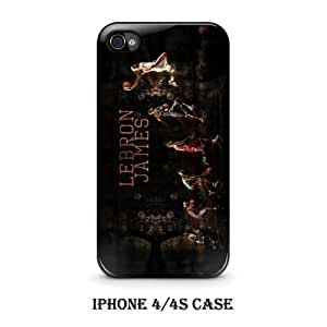leBron James Dunk Basketball Player Custom Black Iphone Case Cover (iPhone 6 4.7) (iPhone 6 4.7)