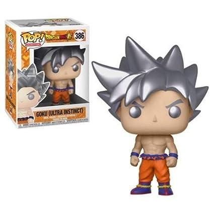b198c10b Amazon.com: Funko Pop Animation: Dragonball Super - Goku Ultra Instinct  Form Collectible Figure, Multicolor: Toys & Games