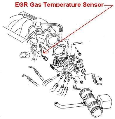 8941233050 Genuine Toyota SENSOR E.G.R GAS TEMPERATURE 89412-33050
