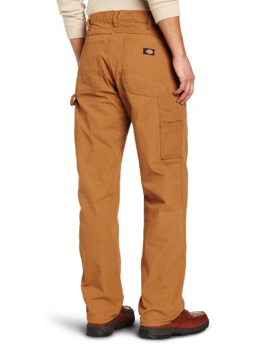 Brown Jean Duck Pantaloni Carpenter Rinsed Dickies Uomo dq0Twf0Y
