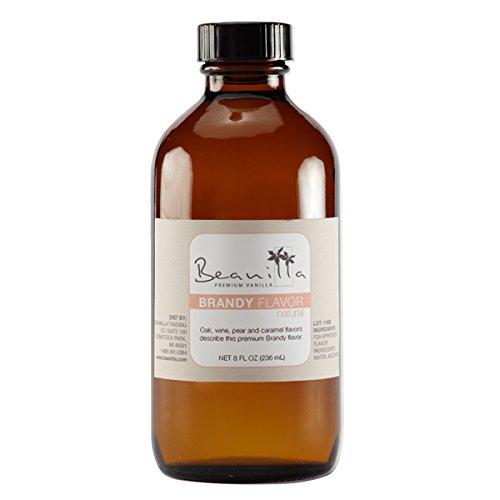 Natural Brandy Flavor - 8 fl oz (Best Brandy For Baking)