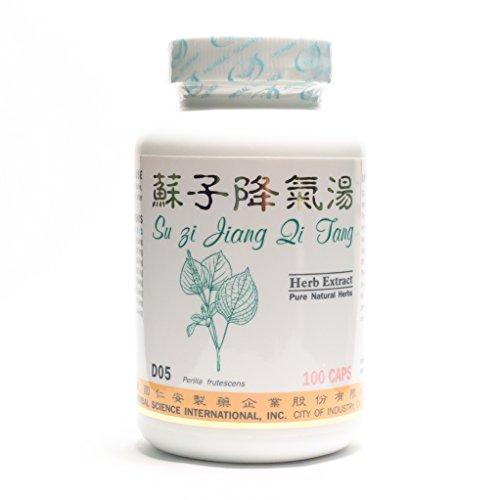 Cheap Perilla Breathe Easy Dietary Supplement 500mg 100 capsules (Su Zi Jiang Qi Tang) D05 100% Natural Herbs