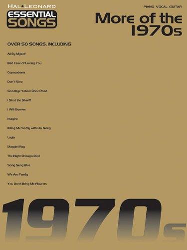 Song 1980 Lyrics (Essential Songs - More of the 1970s (Hal Leonard Essential Songs))