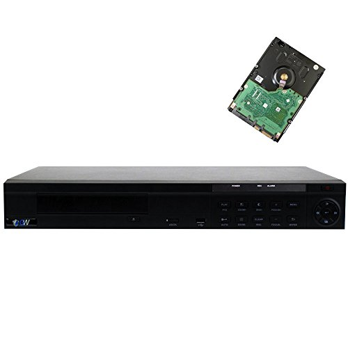 GW Security 8 Channel NVR / Network Video Recorder with 8 ports PoE Switch Built in - Supports Up 8 X 5MP /3MP /2MP 1080P ONVIF IP Cameras @ 30fps Realtime, Quick QR Code Smartphone Access, 2TB HDD by GW Security Inc (Image #9)