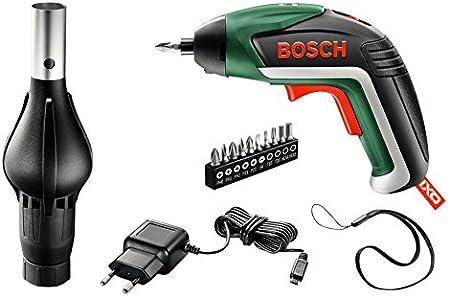 3,6 Volt, mit Spielzeugschrauber f/ür Kinder, im Karton Bosch Akkuschrauber Ixo Set